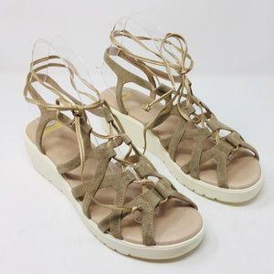 Johnston & Murphy Chasity Platform Sandals 9